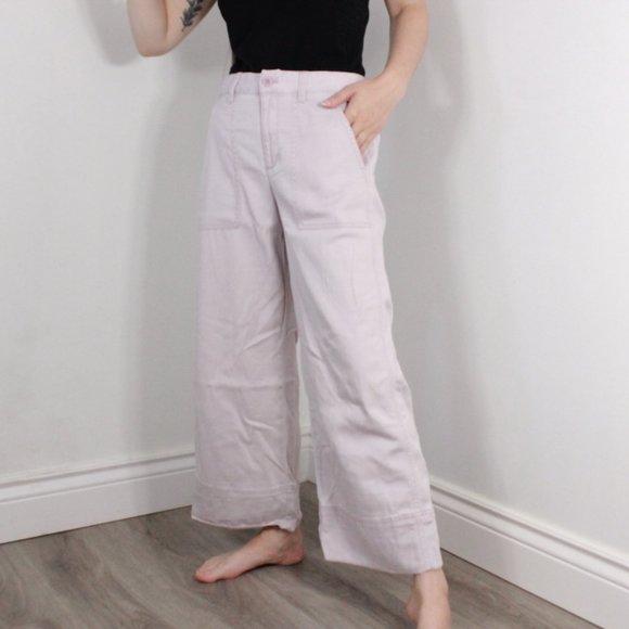 Gap Wide Leg Crop Trousers